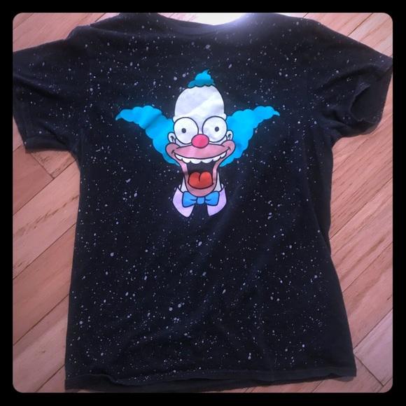Tops - Krusty the Clown shirt